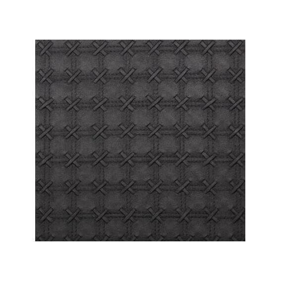 Cross-Stitch-Black-Pearl Embossed-Paper
