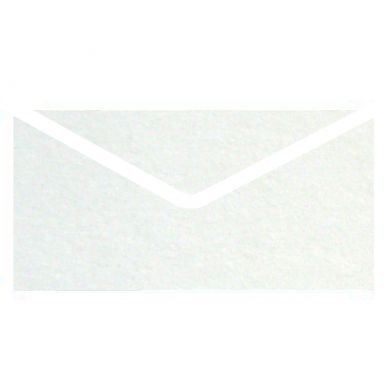 Croygen White Metallic Invitation Envelopes