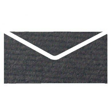Ebenum Vise Versa Textured Invitation Envelopes