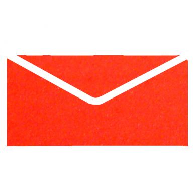 Red Metallic Invitation Envelopes