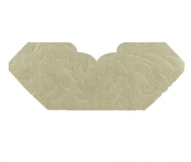 Botannica Ivory Pearl Embossed Invitation Add-A-Pocket