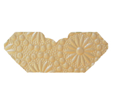 Eternity Ivory Pearl Embossed Invitation Add-A-Pocket