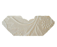 Spring White Pearl Embossed Invitation Add-A-Pocket