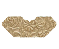 Tuscany Mink Embossed Invitation Add-A-Pocket