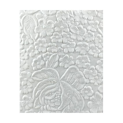 Embossed-Flowers-White-Handmade-Embossed-Paper