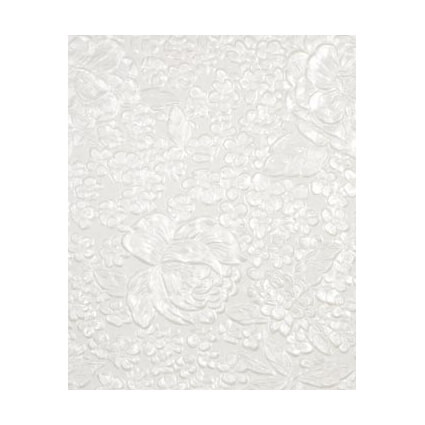 Embossed-Flowers-White-Pearl-Handmade-Embossed-Paper