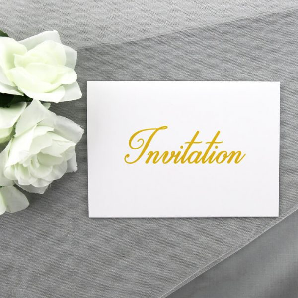 CORINV001 Corporate Invitation Card