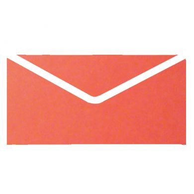 Red Aura Plain Invitation Envelopes