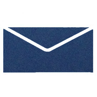 Navy Blue Colourful Plain Invitation Envelopes