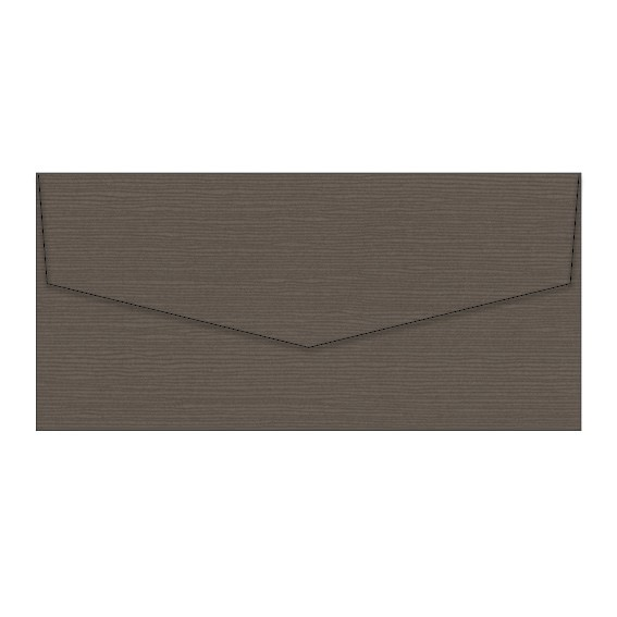 Chocolate Zsa Zsa Textured Invitation Envelopes