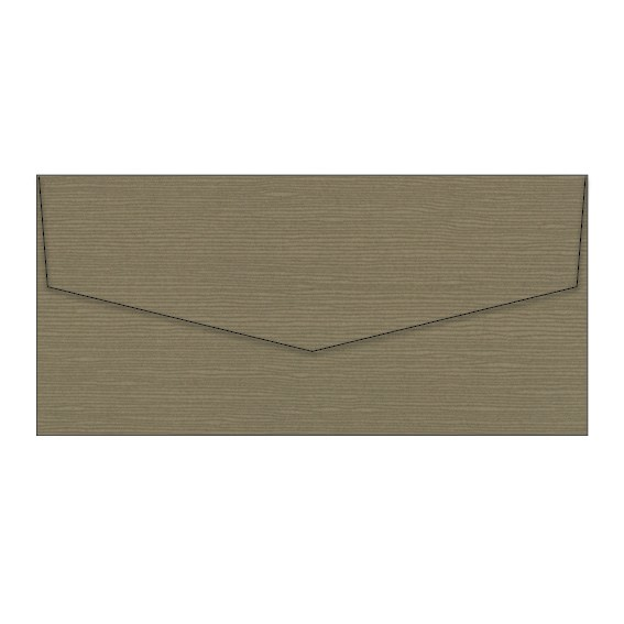Espresso Zsa Zsa Textured Invitation Envelopes