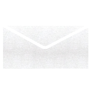 Ice Silver Metallic Invitation Envelopes