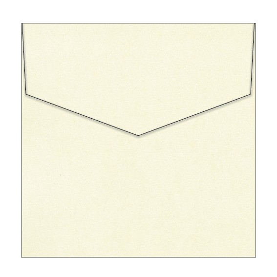 Pouting Pearl Metallic Invitation Envelopes