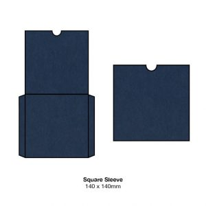 Sailor Blue Eco Luxury Invitation Pocket