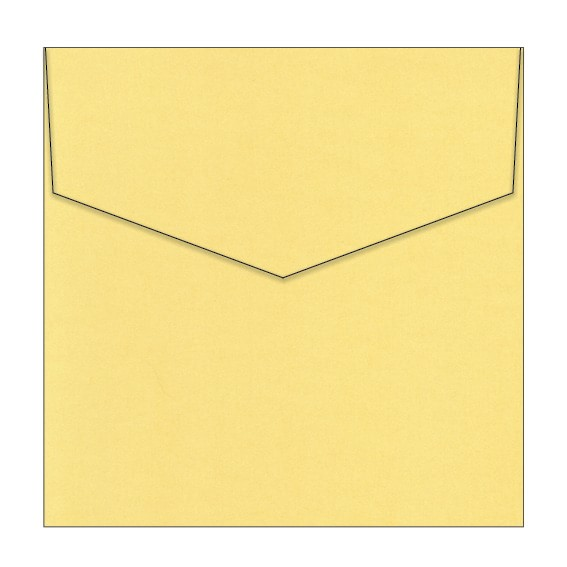 Sunshine Metallic Invitation Envelopes