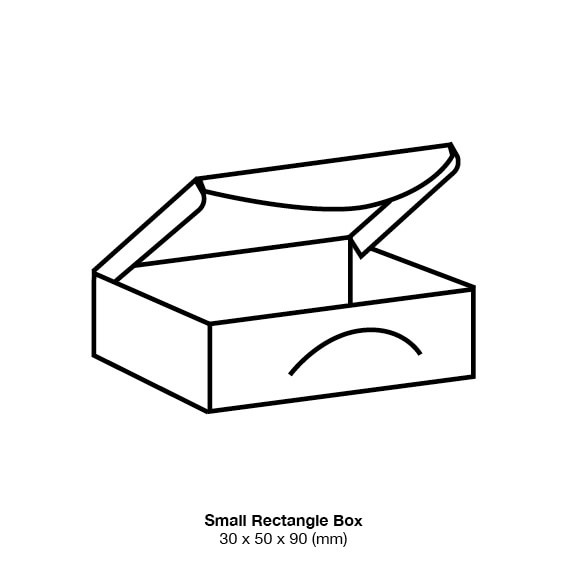 White Marshmallow Bonbonniere Box