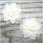 Fabric flower for Invitations