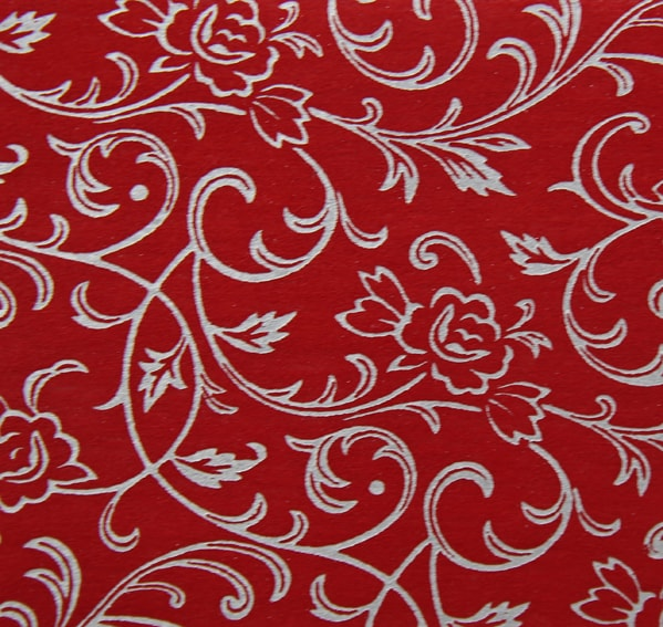 Chiffon Olivia Foil Red Invitation Paper