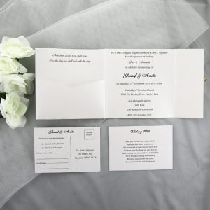 WEDINV16 inside of Ivory Floral Square Gatefold Lasercut Invitations