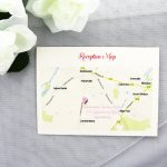 RSVPWISH05 Ceremony or Reception Map Card