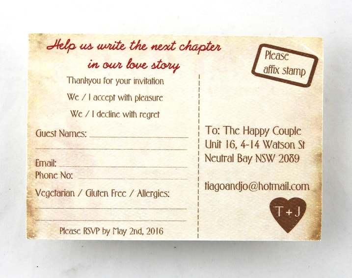 WEDINV136 Passport to Fiji wedding invitation rsvp card
