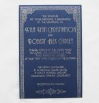 WEDINV43 Navy blue with silver foil vintage burlesque wedding invitation