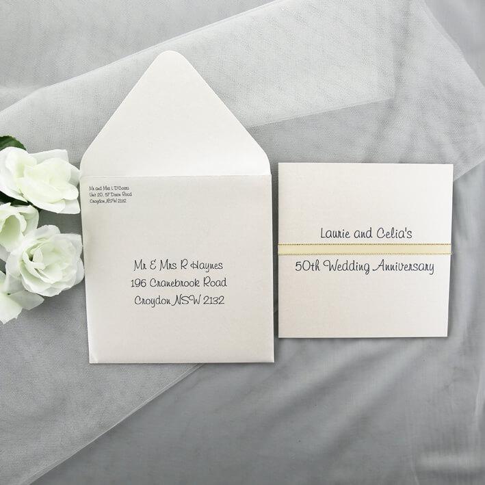 50th Wedding Anniversary Invitations.50th Wedding Anniversary Invitation
