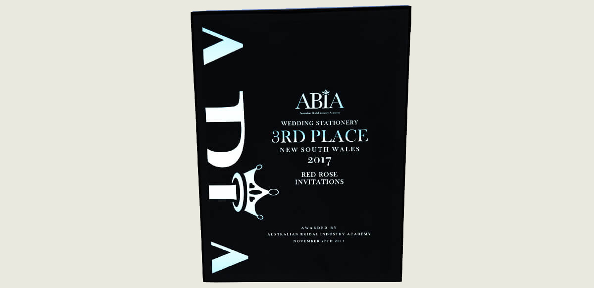 Red Rose ABIA Award slider