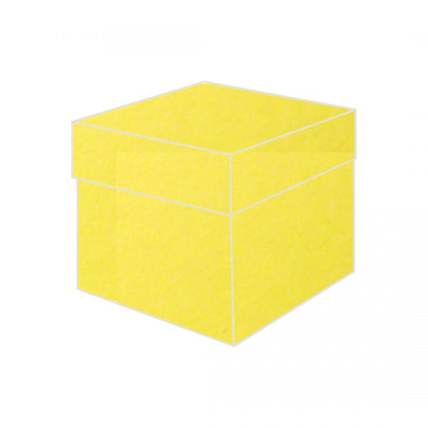 yellow aura top box bonbonniere