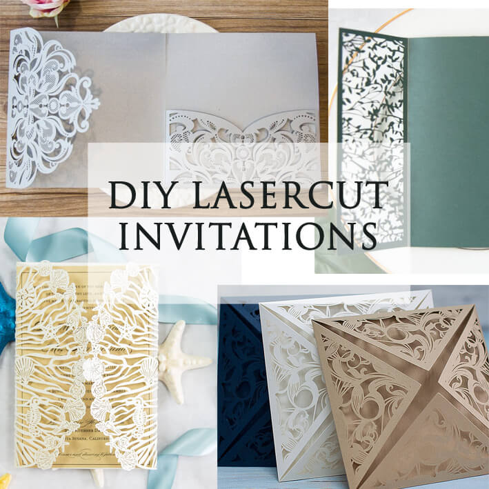 DIY Lasercut invitations